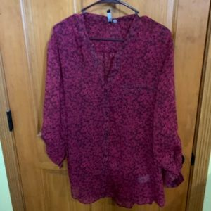 Kut from the Kloth Sinclaire blouse XXL